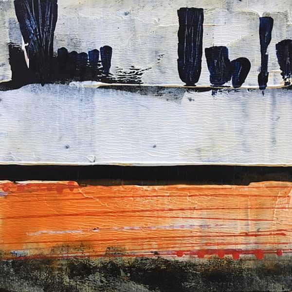 BWScape original art by miga rossetti